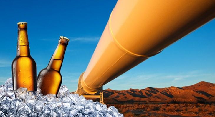 В Бельгии планируют построить пивопровод из пластиковых труб