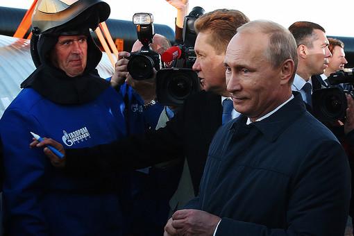 1 сентября прошла церемония начала строительства газопровода Сила Сибири