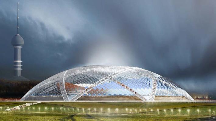 Строящийся в Самаре футбольный стадион получил сертификат BREEAM