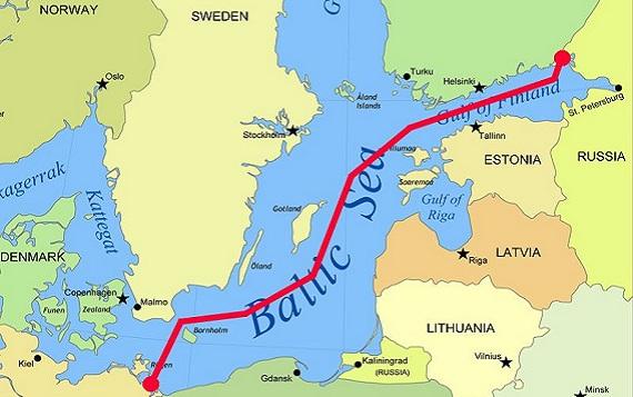 Газопровод Северный поток полностью готов к эксплуатации