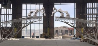Печать мостов в Амстердаме будут осуществлять роботы по технологии 3D-печати!