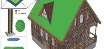 Ученые разработали ветрогенератор в виде газона на крыше!