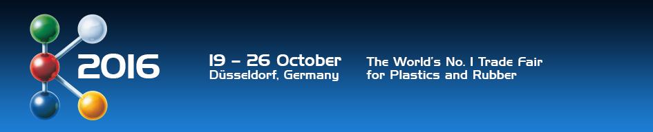 выставка K 2016 - Дюссельдорф Германия (19-26 октября 2016 года)