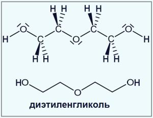 dietilenglikol-formula