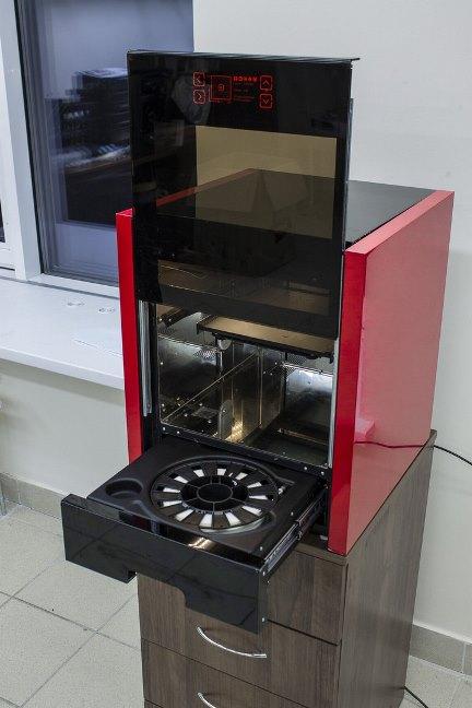 Обзор 3D принтера M3 DUO - первого белорусского аппарата профессионального класса - принтер целиком
