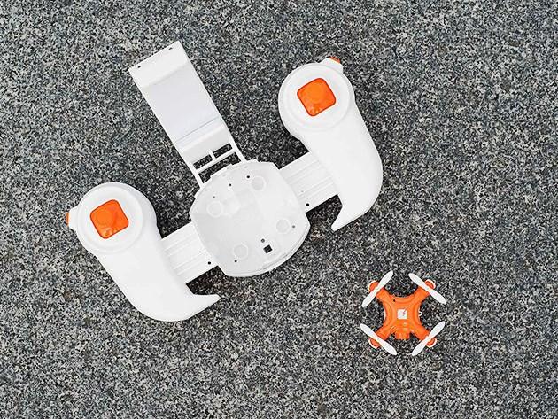 Самый маленький дрон в мире может поместиться в ладони!