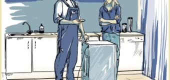 Как установить стиральную машинку?