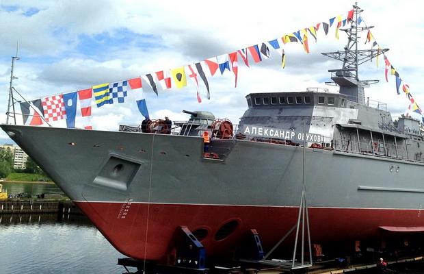 В распоряжение ВМФ России поступит композитный тральщик