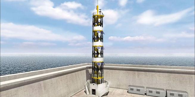 Aimplas помог построить композитный маяк