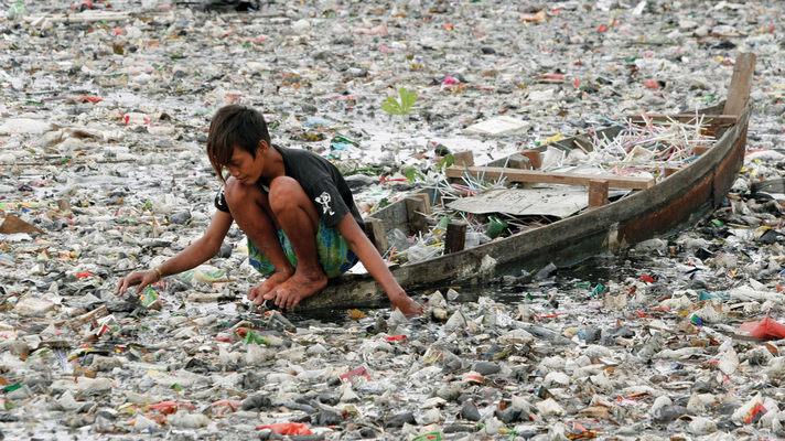 Мировой пластиковый океан