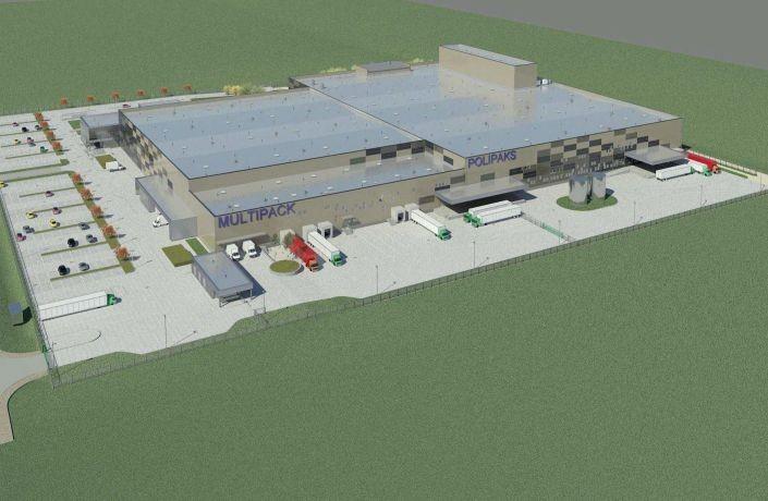 Polipaks инвестирует 28 миллионов евро в строительство нового комплекса