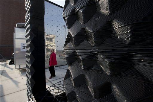 В Голландии строят дом при помощи 3D-принтера