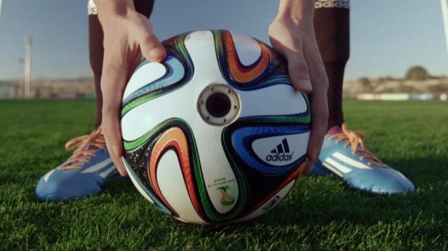 Adidas и Bayer MaterialScience представляют Brazuca — официальный мяч чемпионата мира по футболу 2014