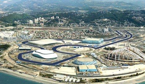 Monolitplast news A Formula 1 Sochi