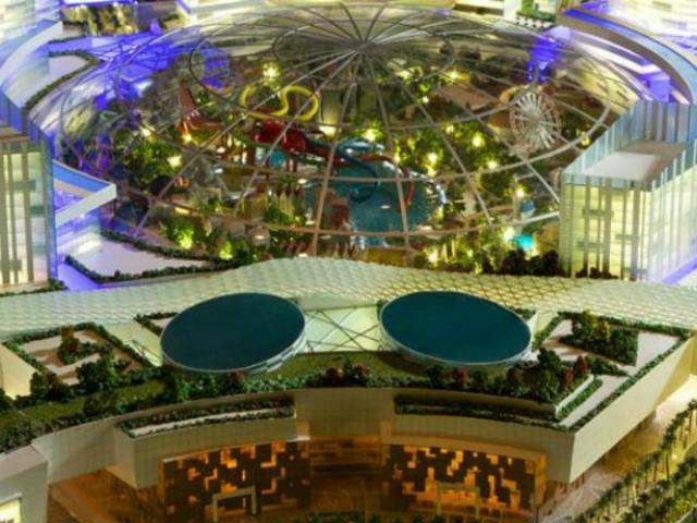 """В Дубае планируют построить """"город в городе"""""""