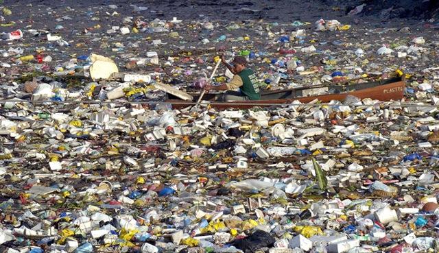 Ученые выяснили, что почти вся поверхность мирового океана загрязнена пластиковыми отходами