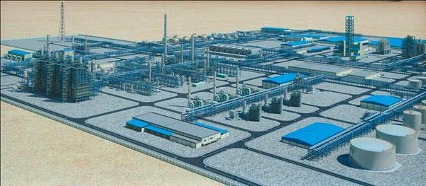 Газохимический комплекс Туркменистана