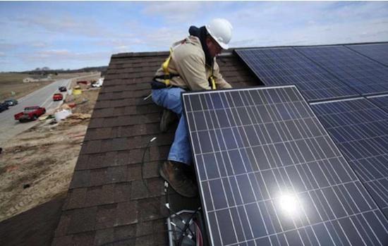 Солнечная электростанция крышевого типа в Бресте