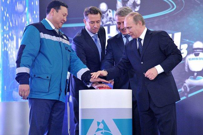 На днях был официально открыт комплекс Тобольск-Полимер!