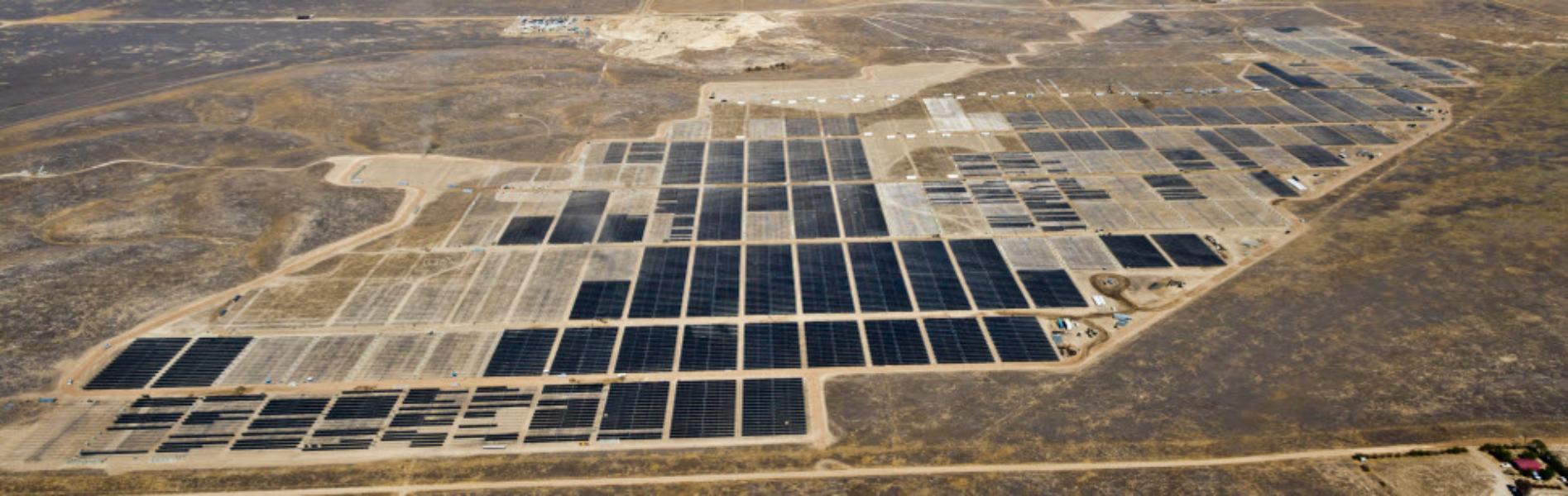 солнечные электростанции мира California Valley Solar Ranch