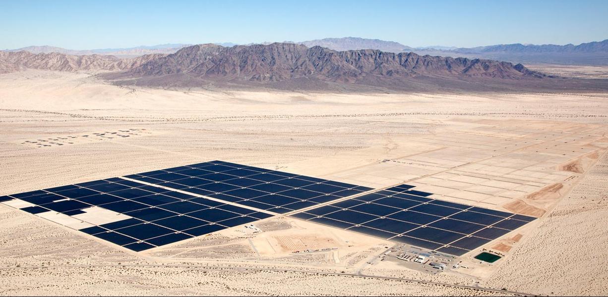 солнечные электростанции мира Desert Sunlight Solar Farm