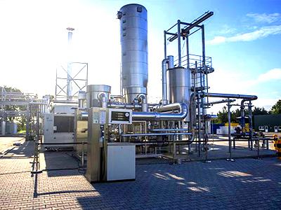 строительство завода по добыче синтетического топлива