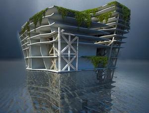Подводные небоскребы из мусора – проект Lady Landfill Skyscraper