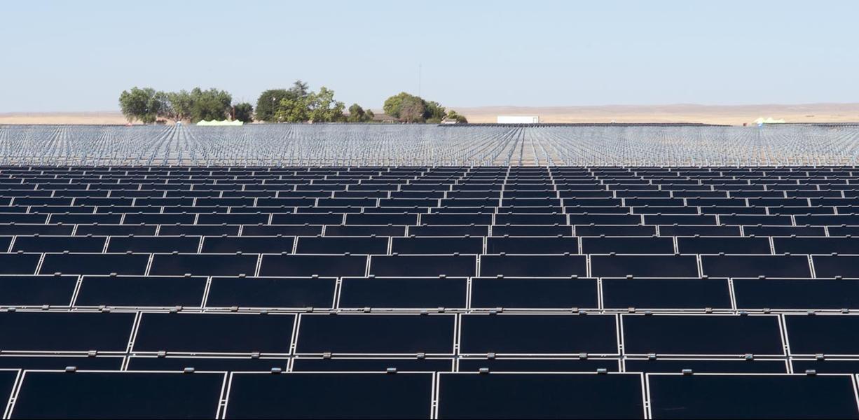 солнечные электростанции мира Topaz Solar Farm