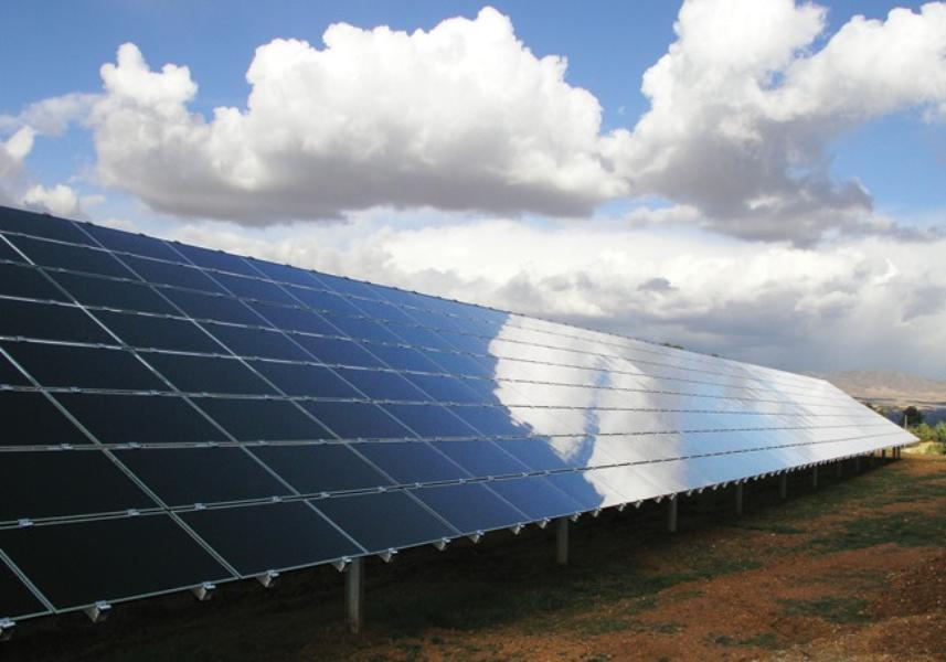 солнечные электростанции мира Vega Solar Power Plant