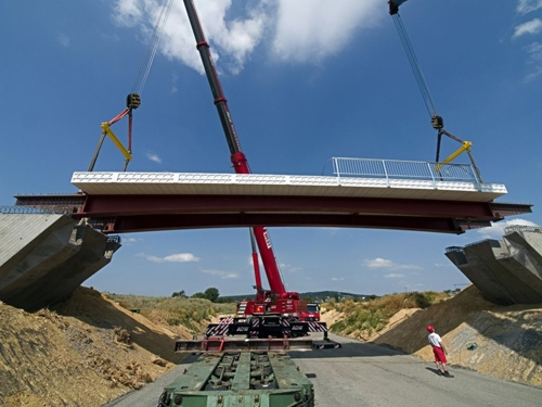 Первый мост на основе композитных материалов
