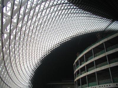 уникальные здания: Купол Национального оперного театра Китая (National Grand Theater) в Пекине
