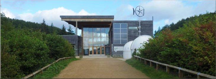 уникальные здания: Центр Dalby Forest в Северном Йоркшире (Великобритания)