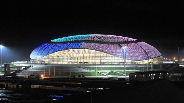 уникальные здания: Ледовый дворец «Большой» в Сочи