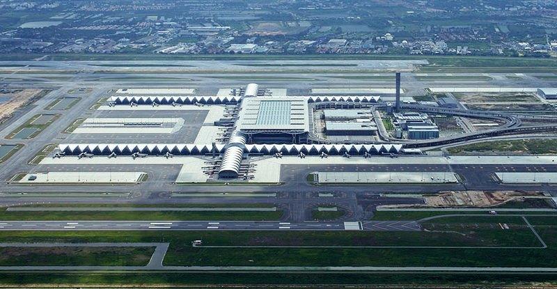 уникальные здания: Suvarnabhumi Airport - аэропорт в Бангкоке