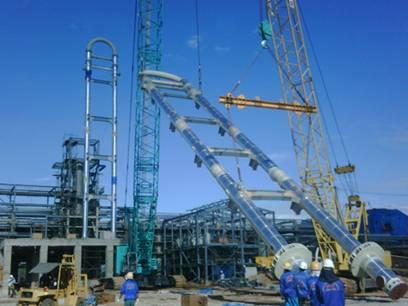 Владимиру Путину рассказали о ходе строительства Тобольск-Полимера