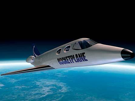 Туристический космический корабль SpaceShipTwo успешно совершил первый полет