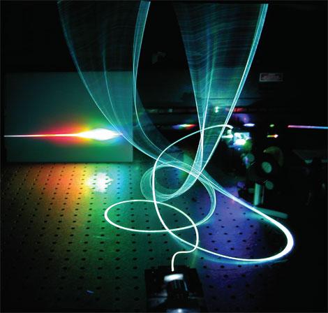 Сортировку мусора при помощи спектрального лазерного анализа представили немецкие изобретатели