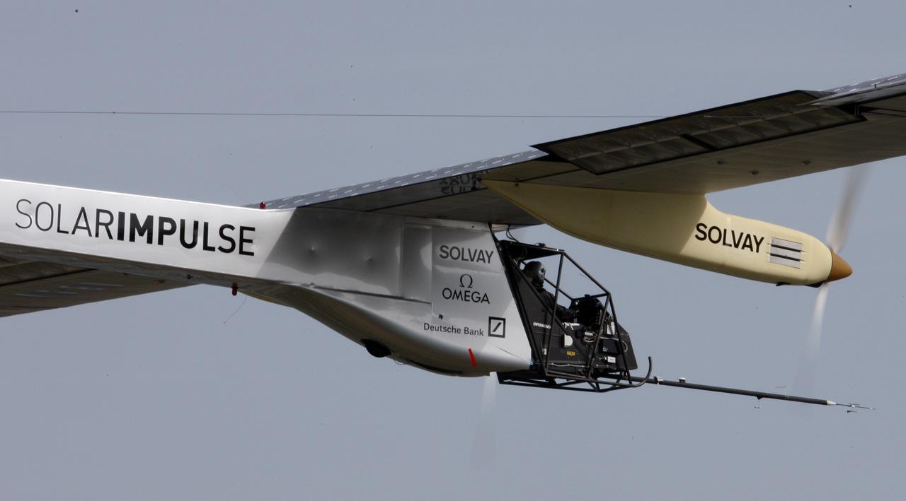 Solar Impulse — Cамолёт на солнечных батареях