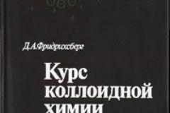 Курс коллоидной химии (Фридрихсберг Д. А.,1984г)