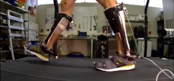 Новый экзоскелет в виде ботинок: работают автономно и облегчают движение!