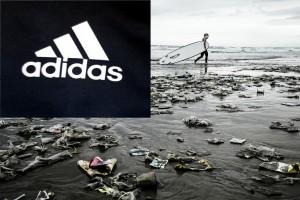 Одежда и обувь из мусора от Adidas Ocean