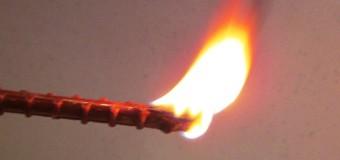 Показатель возгораемости полимерных материалов
