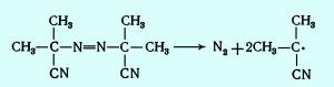 реакции разложения порофора динитрила азобисизомаслянной кислоты при производстве пенополитирола