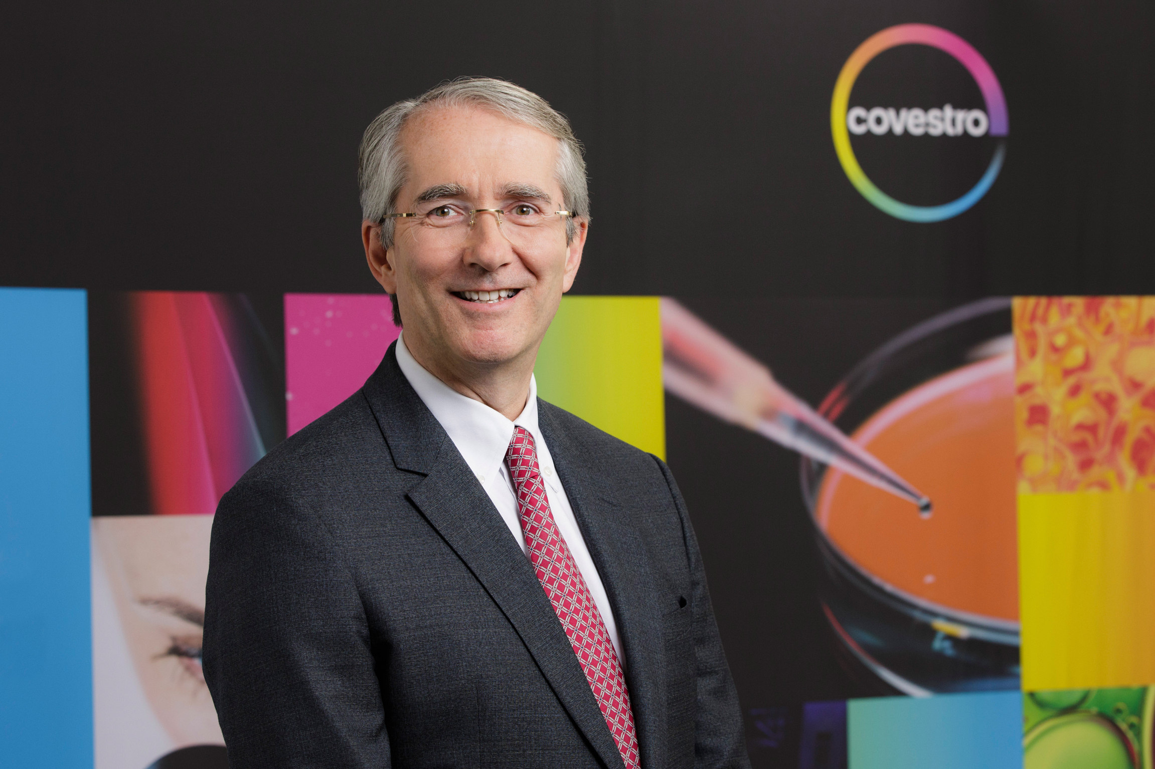 Patrick Thomas CEO of Bayer MaterialScience Covestro