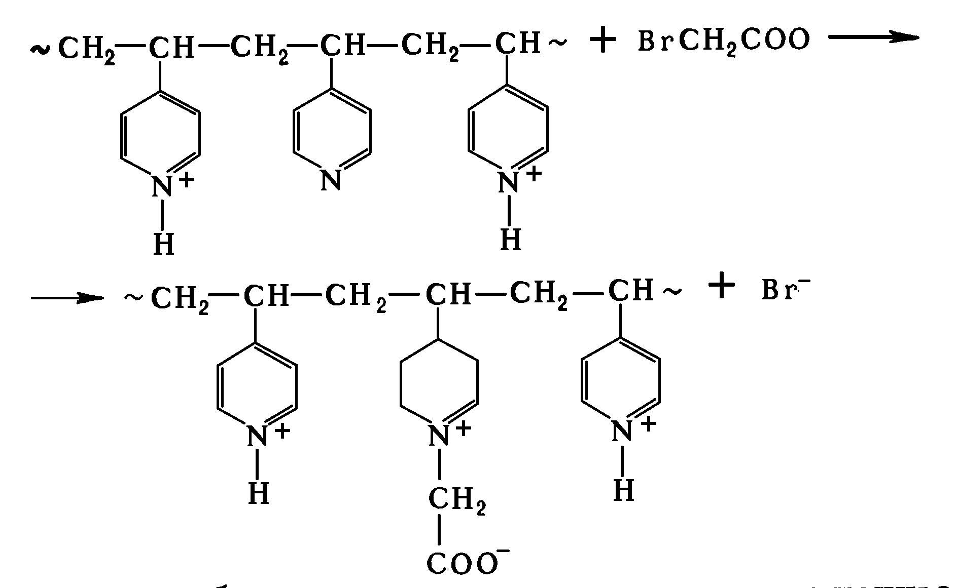 полимераналогичные превращения реакция бромуксусной кислоты с поли-4-винилпиридином
