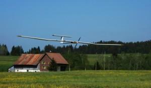 солнечный беспилотник AtlantikSolar приземление