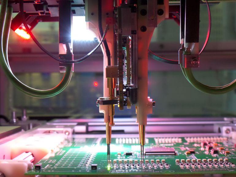 Внутрисхемный контроль в производстве микросхем