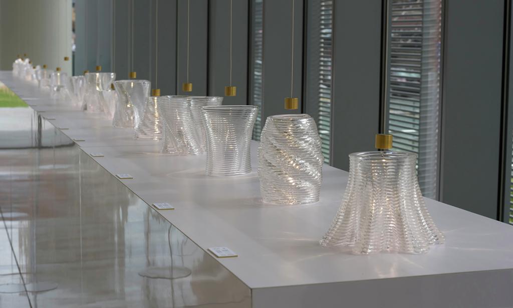 3D печатные стеклянные изделия 2