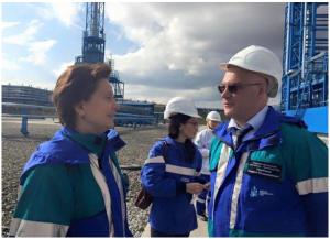 Сергей Донской и Наталья Комарова в Югре