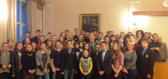 В НАН Украины прошла лекция для юных биохимиков на тему Флуоресцентная микроскопия живой клетки